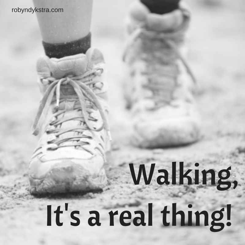 Walking, It's a real thing!